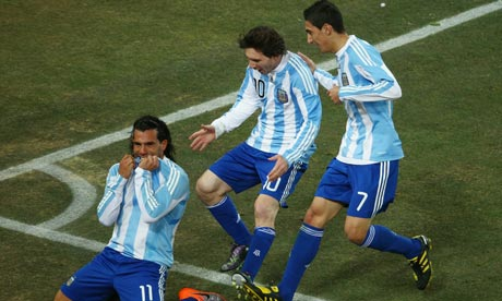 Argentina Overcomes Mexico To Progress To The Quarterfinal