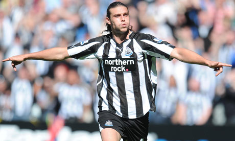 Andy Carroll has been in great form for Newcastle United this season so far
