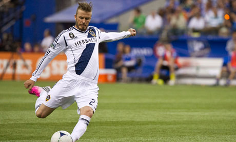 David Beckham takes 40% pay cut with Los Angeles Galaxy in ...