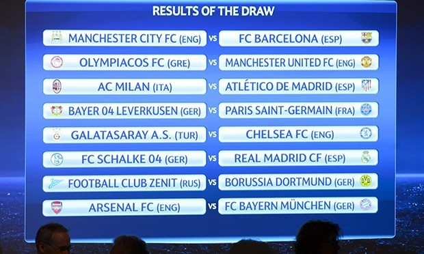 Champions League Draw: Calendrier Liga Madrid 2015 2016