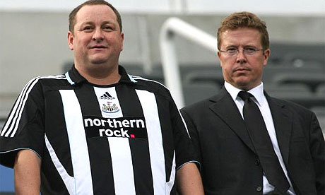 Ashley - Has saved NUFC from administration during Shepherds era