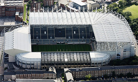 Stadium - Needs to be kept as St.James Park