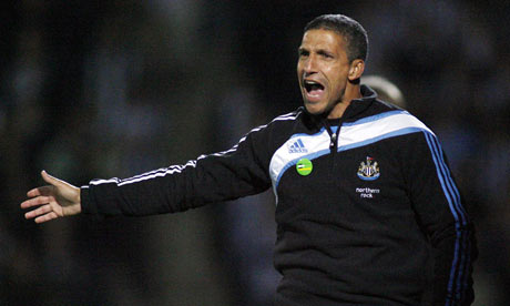 Chris Hughton will face a big challenge keeping Newcastle in the Premier League