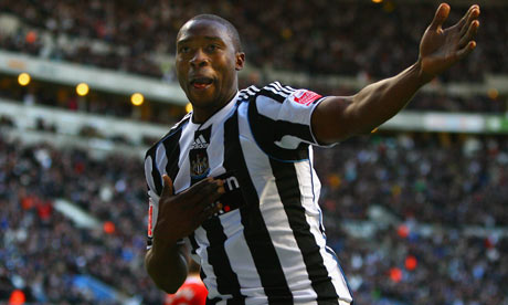 Shola Ameobi - Newcastle