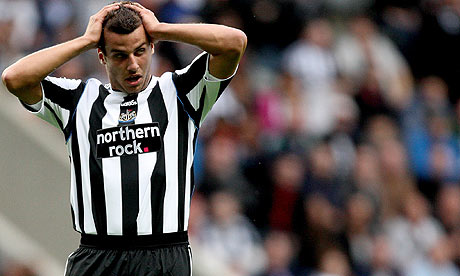 Steven Taylor has been placed on the transfer list at Newcastle