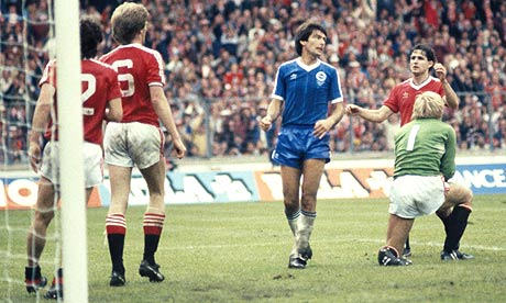 Gordon Smith's 1983 FA Cup final miss was suggested, but missed the longlist