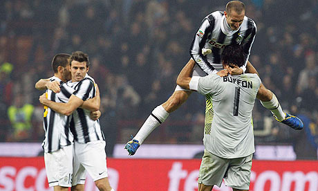 Juventus Ghost Past Internazionale And Serve Notice To