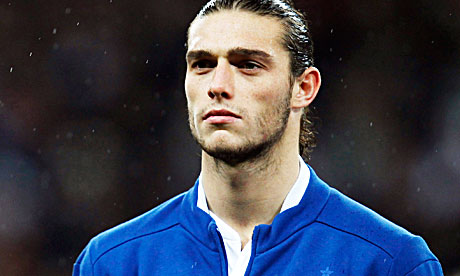 England and Liverpool striker Andy Carroll