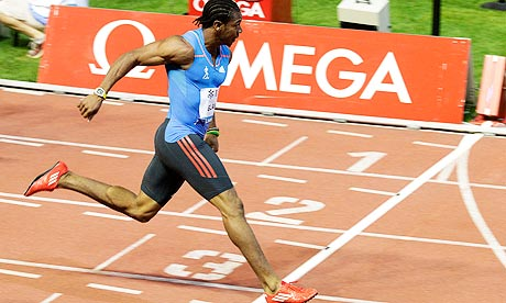 Yohan Blake's 9.69sec puts Usain Bolt in the shade in Lausanne | Sport | The Guardian