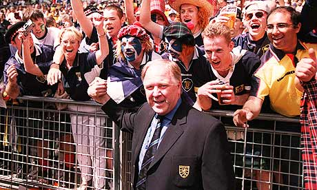 Craig Brown at the 1998 World Cup