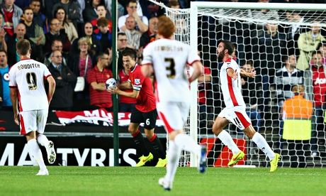 MATCH REPORT: MK Dons 4-0 Manchester United