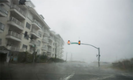 Heavy rain in Virginia from Hurricane Irene