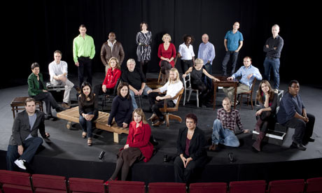 British theatre directors, actors and writers