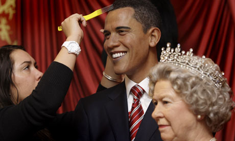 madame tussauds obama queen