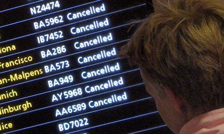 air travel cancellations