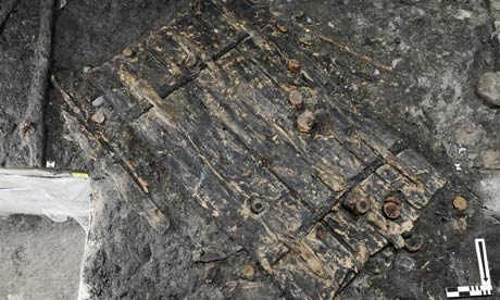 Swiss Unearth 5 000 Year Old Door World News The Guardian