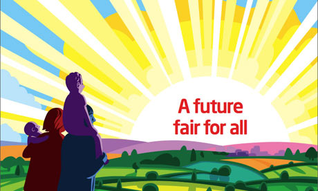 Cover of the Labour Manifesto 2010