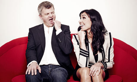 One Show presenters Adrian Chiles and Christine Bleakley