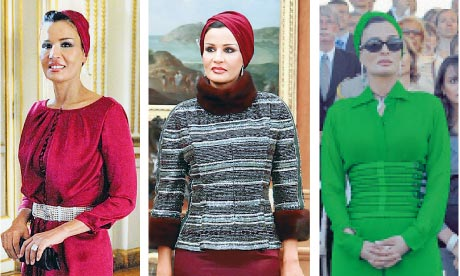 The emir's wife who's becoming a style icon | Fashion ...