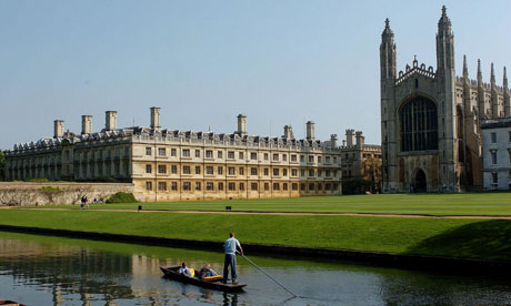 Cambridge University is among those to have been criticised