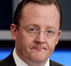 Robert Gibbs, White House press secretary