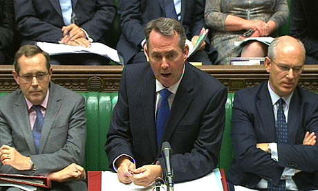Liam Fox answers questions in the Commons over his friendship with Adam Werrity.