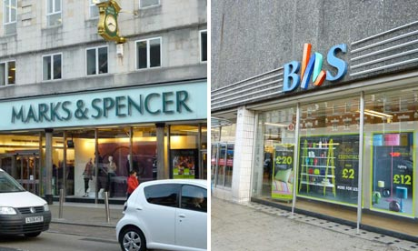 Store Wars - M&S and BHS