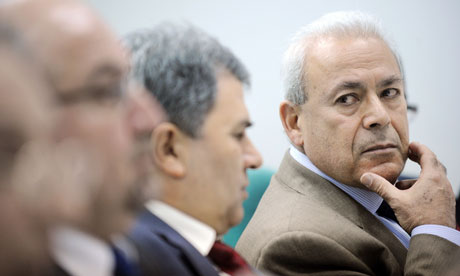 Burhan Ghaliou attends a press conference in Moscow