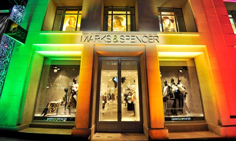 Marks and Spencer new store opens on 100 Avenue des Champs-Elyees, Paris
