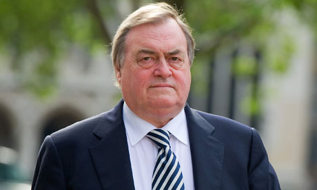 Lord Prescott attends Iraq war inquiry