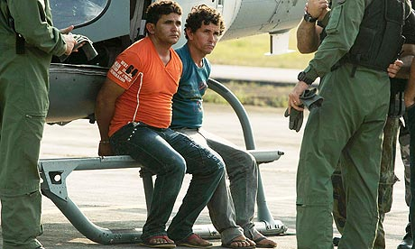 José Rodrigues Moreira and his brother Lindon Johnson Silva Rocha - suspects in Amazon murders