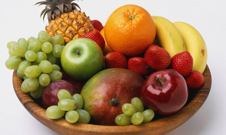 A fruit bowl