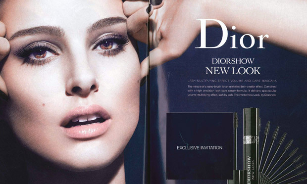 Christian Dior mascara ad banned for airbrushing Natalie ...