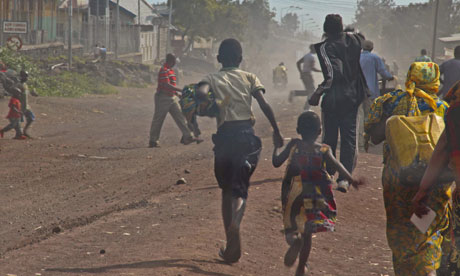 Fighting in Goma