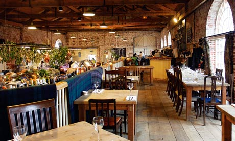Restaurant The Goods Shed Canterbury Kent Life And