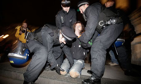 Occupy Protesters evicted