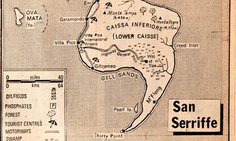 map of San Serriffe