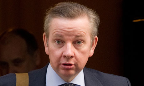 Education Secretary Michael Gove