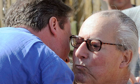 David Cameron father Ian