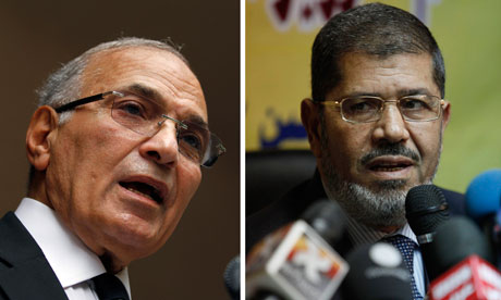 Ahmed Shafiq, Mohammed Morsi