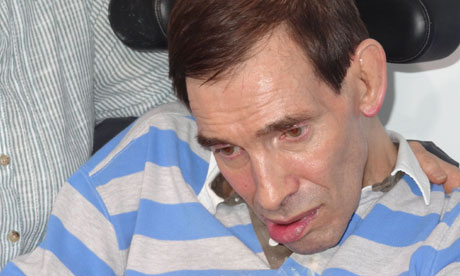 Locked-in syndrome sufferer Tony Nicklinson