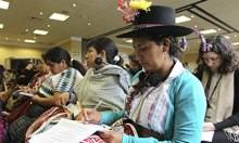 Women attend the Indigenous Women Leaders Conference