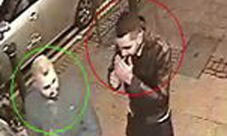 CCTV image of men in Birmingham
