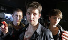 Being Human … Tom (Michael Socha), Hal (Damien Molony) and Alex (Kate Bracken)