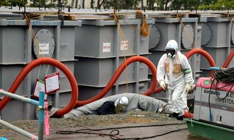 Fukushima nuclear power plant leak, Japan