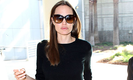 Angelina Jolie at LAX Airport, Los Angeles,