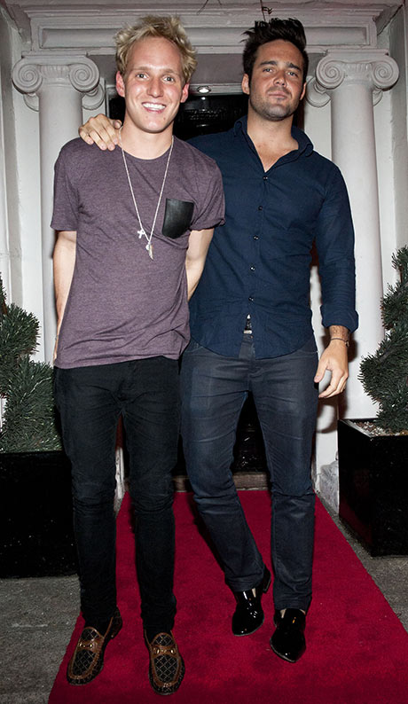 Made in Chelsea stars Jamie Laing and Spencer Matthews