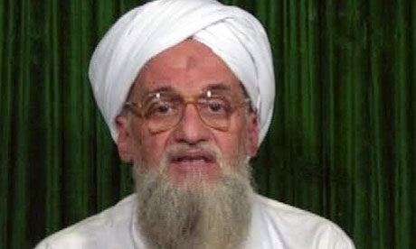 Ayman al-Zawahiri, pictured last year, commented on the political situation in Egypt.