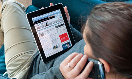 More than half of Britons access news online | Richard Hartley