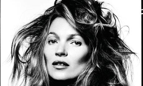 Kate Moss photo taken by David Bailey